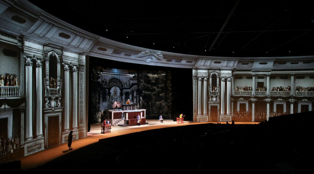 Ovation E-910FC theatre lighting applications at Puy Do Fou