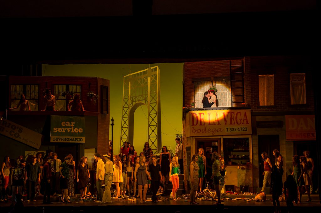 CHAUVET Professional theatrical lighting applications for 'In the Heights'