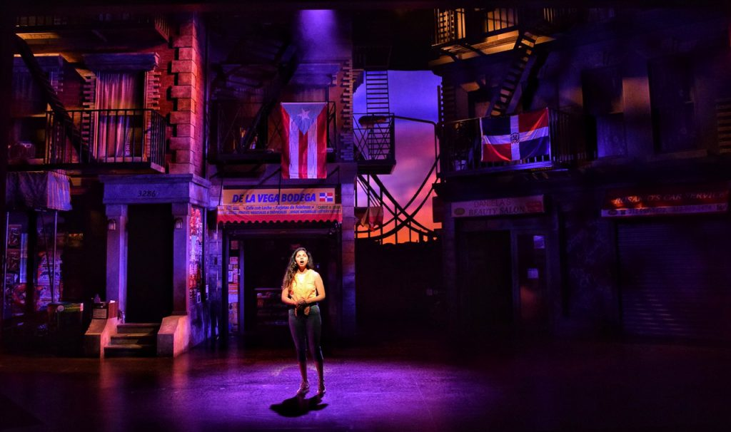 Cory Pattak Runs Colors Through In The Heights With CHAUVET Professional