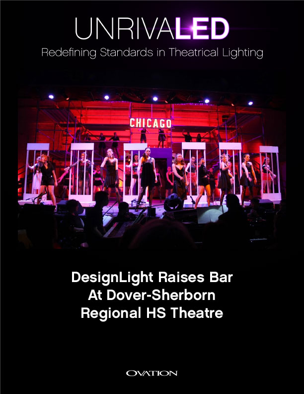 DesignLight And CHAUVET Professional Raise Bar At Dover Sherborn Regional HS Theatre