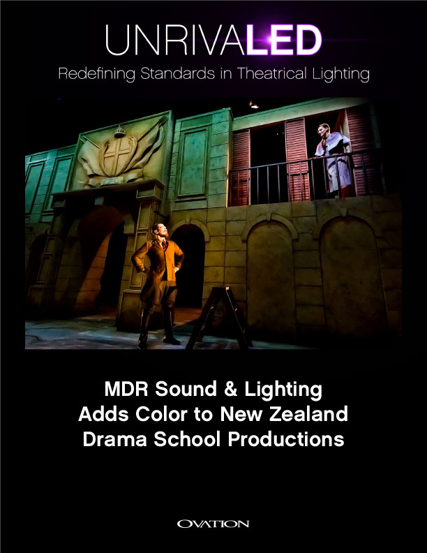 MDR Sound & Lighting Adds Color To New Zealand Drama School Productions